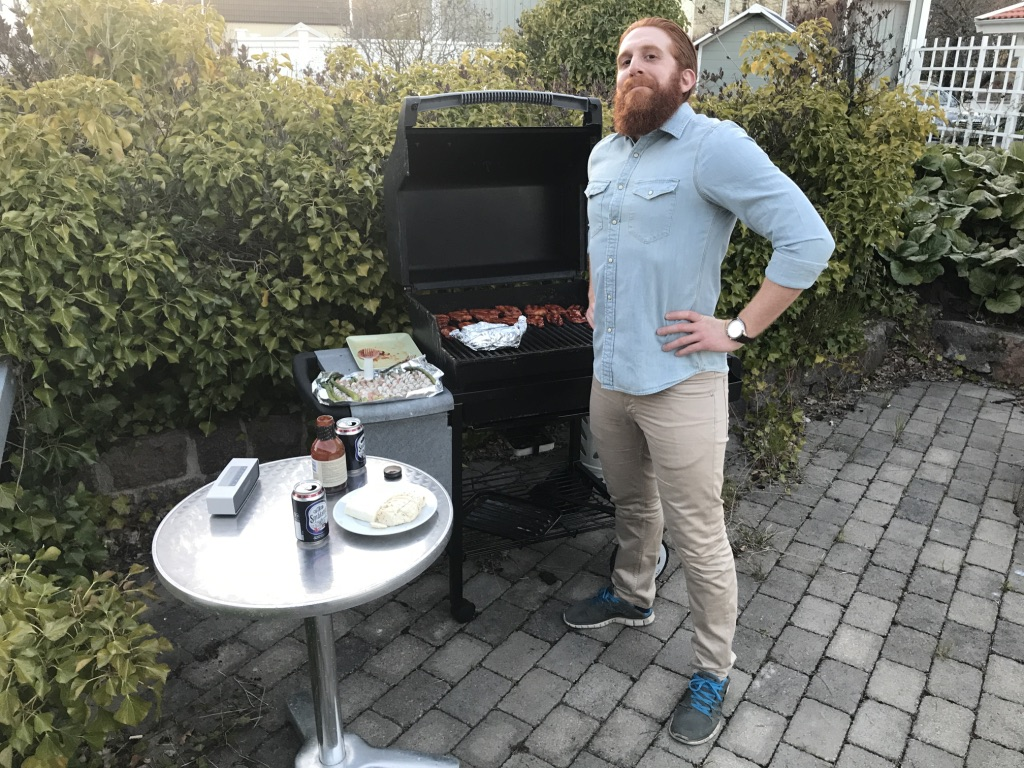 First barbecue of 2017