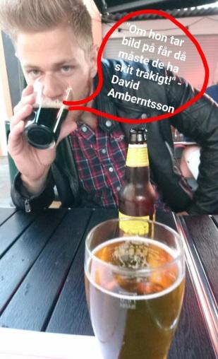 Beer time at Kråkan