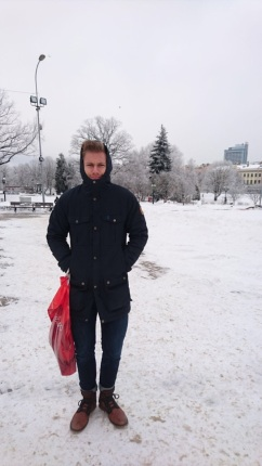 Another cold dude in Riga